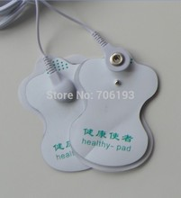 50pcs/lot health herald white Electrode Pads patch for Tens EMS Acupuncture,Slimming massager , Digital Therapy Massage Machine