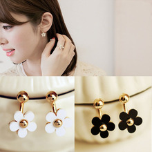 Hot 1 Pair Women Girls Charming Small Ball Daisy Flower Stud Earrings Piercing Jewelry Gift