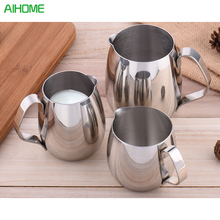 Thickened Stainless Steel Espresso Coffee Milk Cup Mugs Caneca Thermo Steaming Frothing Pitcher Frothers Latte Art(China)