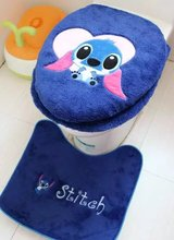 3 piece/set Super soft Shu Velveteen thickening toilet potty sets toilet seat cover Cartoon Warm Close Stool Cushion Mat(China)