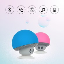 Mini Bluetooth Speaker Wireless Loudspeaker Super Bass Bluetooth Speaker Mushroom Cute Travel Speaker For Phone Music