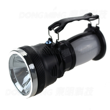 solar flashlight outdoor Camping Hiking Hunting flash lamp torch 3 mode(China)