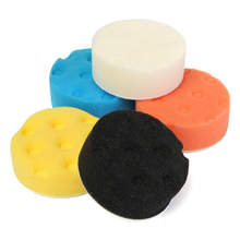 5Pcs 3Inch CCS Smart For Buff Buffer Polishing Pad Set For Car Polisher Pads 76.2mm 3inch(China)