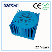 PTC25 For Audio usage 25VA 2*115V/2*12V toroidal transformer, encapsulated transformer(China)