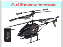 iPhone/iPad/iPod control helicopter with camera 3CH WL s215 rc helicopter P3