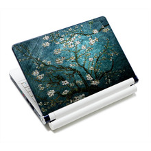 "Green Cherry tree 12"" 12.6"" 13"" 13.3"" 15"" 15.4"" Notebook Laptop Skin Netbook Sticker Cover Decel for Mac, acer"