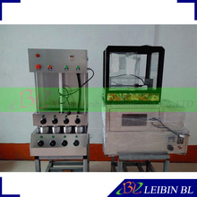 LEIBIN BL Brand High quality food machine cone pizza maker Pizza Cone machine and Pizza Oven and Display case(China)