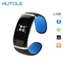 Xutole L12S Smartband  Bluetooth Smart Watch Bracelet Health Fitness Tracker Handsfree mic speaker for iPhone 7 Windows Android