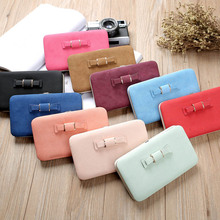 Purse Wallet Female Fashion Women Clutch Purse PU Leather Wallet Card Holders Cellphone Pocket Money Bag Gifts Popular
