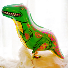 the dinosaur walking animal balloons with small leg children pet animal balloons new style toy 50pc/lot