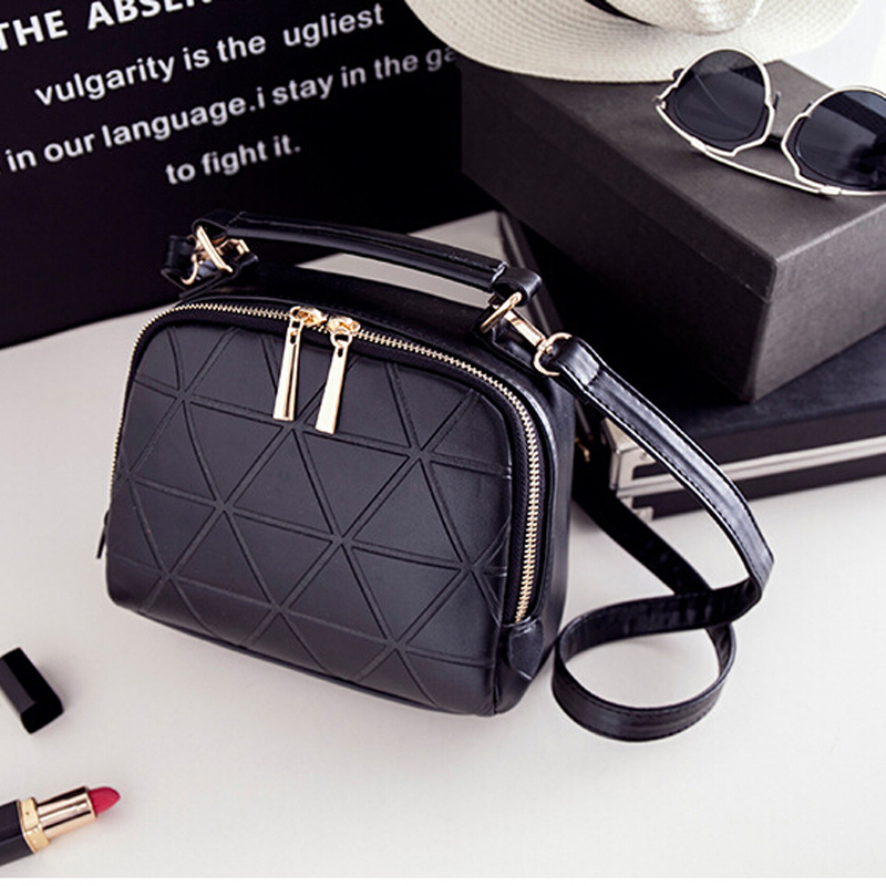 High Quality Chain Shoulder Lady Messenger Bag Candy Color Crossbody Bags New Fashion Women Solid PU Leather Handbag 45ZS<br><br>Aliexpress