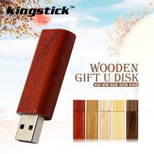 Kingstick mini key usb 2.0 pen drive 8gb 16gb 32gb 64gb wooden memory usb flash drive usb flash stick pendrive