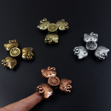 Buy 2017 Handspinner Fidget Spinner Hand Finger Toys EDC Metal Zinc Alloy Birthday Christmas Toys Children Hello Kitty Spinners for $4.56 in AliExpress store