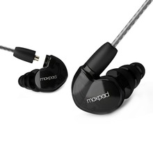New! Moxpad X6 In-ear sport Earphones with Mic for iPhone Samsung,Mobile Cell Phones,Replacement Cable+Noise Isolating headset