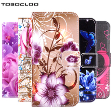 TOBOCLOO Wallet Stand Flip Leather Case For Samsung Galaxy S3 S4 S5 S6 S7 edge S8 Plus j3 j5 j7 Prime A3 A5 2017 2016 Cover(China)