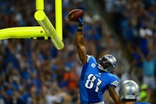 12941 Calvin Johnson - American Football NFL Megatron-Wall Sticker Art Poster For Home Decor Silk Canvas Painting(China)