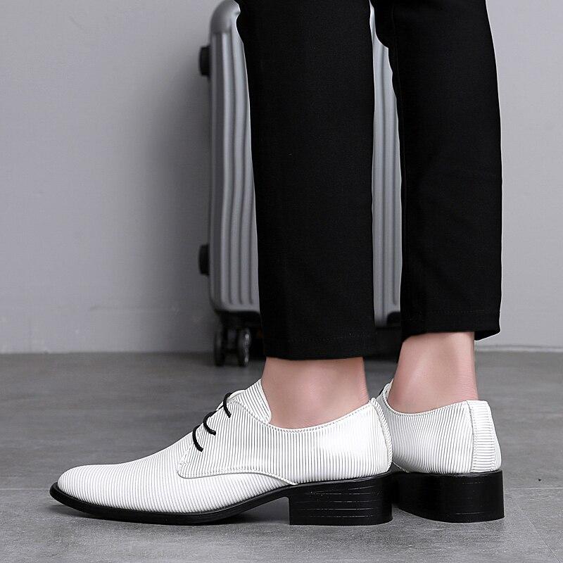 designer striped shoes men luxury brand fashion camouflage italian pointed male footwear designer man dress oxford shoes for men (19)