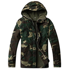 Outdoor Military Tactical Jacket Men's Waterproof fleece Camouflage hunting hiking snowboard Jackets fishing coat(China)