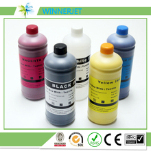t shirt printing for epson dtg printer 1390 textile ink, K C M Y WH WH tinta DTG ink 1000ml *6 colors for epson F2000 inks