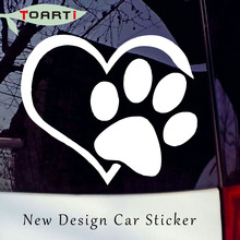 Buy Heart Paw Vinyl Car Truck Sticker Bumper Window Adopt Bully Heart Cat Dog Laptop Boat Truck Auto Bumper Wall Graphic New Design for $1.24 in AliExpress store