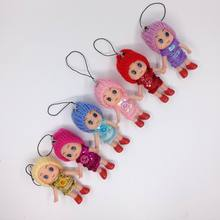 Bulk 50pcs/lot Confused Ddung Doll Phone Strap Bag Pendant Toy Gift Charm Ornaments For Keychain #A03