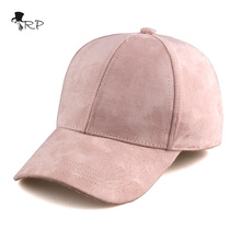 Free shipping Summer Baseball Cap Women Fashion Brand Wholesale Street Hip Hop Caps Suede Hats for Ladies Black Baseball Cap