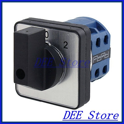 500V 16A Rotary Cam 3 Position Combination Changeover Switch<br><br>Aliexpress