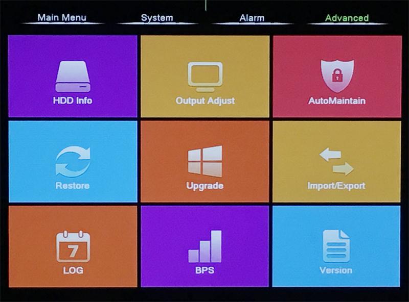 XMeye Hisilicon Chip H264+ 16CH 8CH 4MP Full HD 5 in 1 Hybrid Coaxial WIFI ONVIF TVi CVI IP NVR AHD CCTV DVR menu picture 01