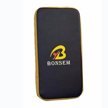BONSEM Brand Taekwondo MMA Boxing Gloves Kicking Punching Pad PU Leather Training Gear Sanda Fighting Muay Thai Foot Target Pad