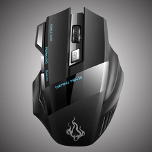 USB Computer Mouse 800-2400DPI 7 Colorfu LED Wired Mice 7 Buttons Optical Mouse Gaming Mouse For PC Laptop for Pro Gamer(China)