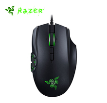 Original Razer Naga Hex V2 Wired Gaming Mouse 16000 DPI 7 Mechanical Thumb Buttons 5G Laser Sensor Chroma Ergonomic Gaming Mouse(China)