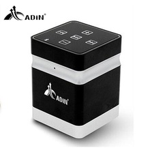ADIN Bluetooth Vibration Speaker 26W Mini Portable Metal Wireless Speaker Handsfree AUX hifi Speakers For Phone Computer PC