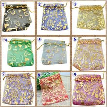 YouMap Gift Bags Organza Bags Pouches Wedding Candy Christmas Packaging Pouches Nice Colors Pick 3 Size Available