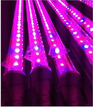 factory-outlet 30pcs/lot T5 LED tube grow light 600mm 2ft 0.6 meter smd2835 red blue full spectrum plant growing lamp ac85~265v