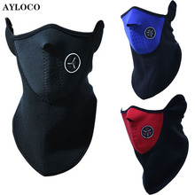 Thermal Fleece Balaclava Hood Bike Wind Stopper Face Mask Men Neck Warmer Winter Fleece Motorcycle Neck Helmet Cap