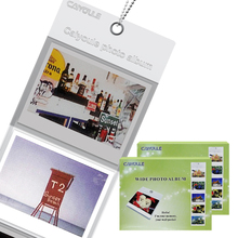 2 x Takashi Hang Wall Pocket Wide Album 5 Photo for Fujifilm Instax Wide 210 300 Instant Camera