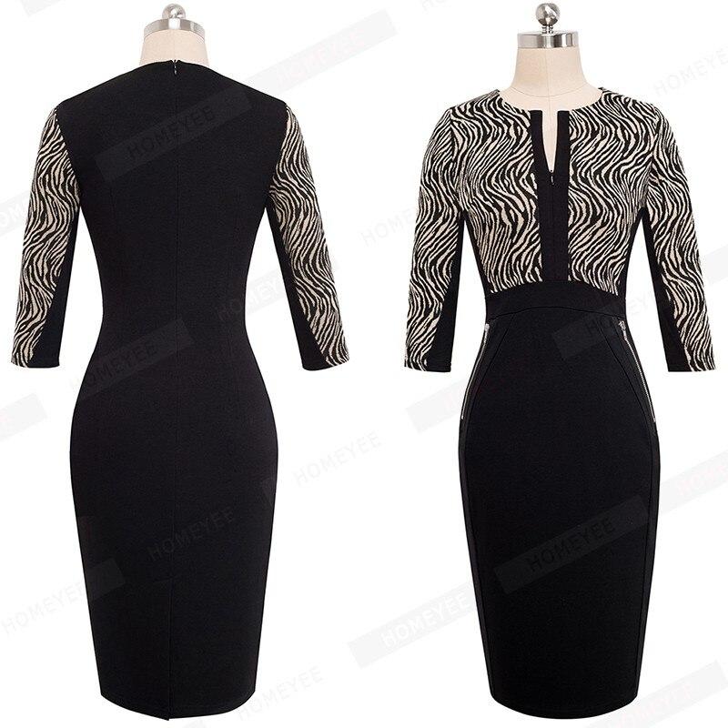 Plus Size Elegant Bodycon Pencil dress 18