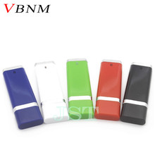 VBNM fashion 4 Color 4GB 32GB Business USB Flash Drive Thumb Memory Flash Stick Pen drive 16 gb birthday Personality Gift(China)