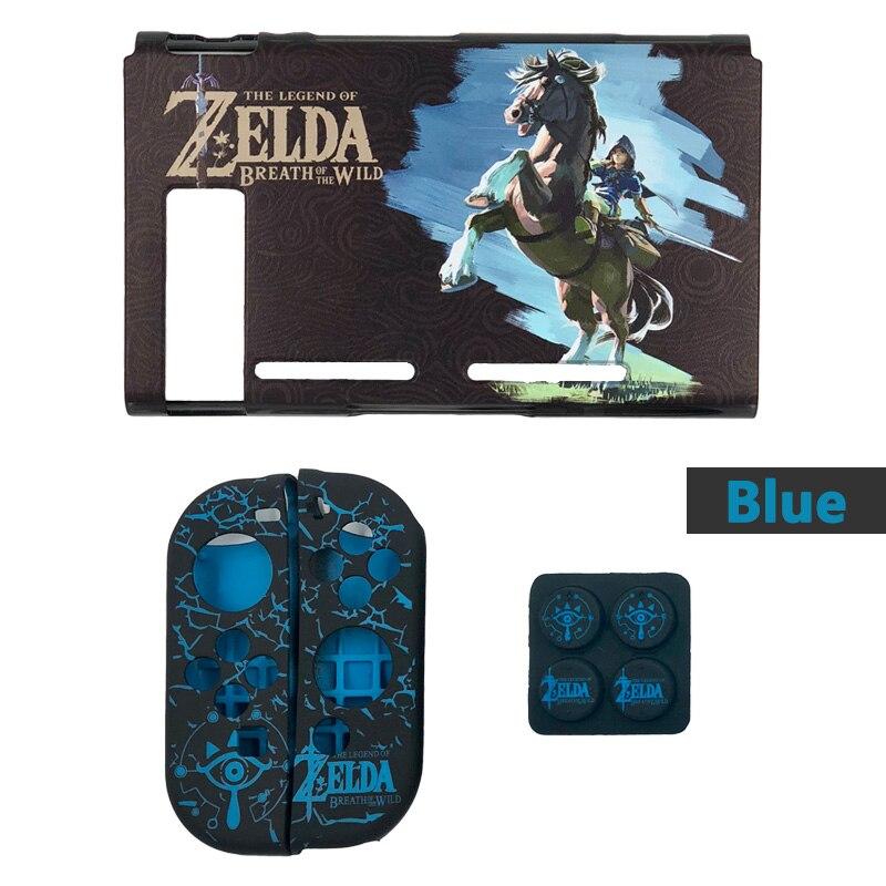 Nintendo Switch Protective Case Cover The Legend of Zelda Jon Con Grip Thumb Stick Caps Accessories-8