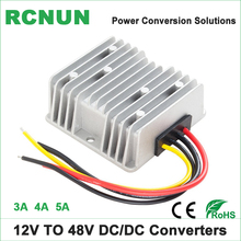 12 Volt to 48 Volt 5 Amp Step Up DC DC Converter 12V-48V 3A 4A DC-DC Boost Module High Quality Car Power Supply(China)