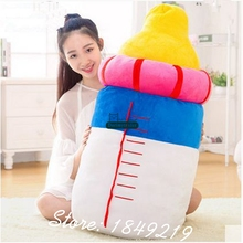Dorimytrader 39'' / 100cm Giant Milk Bottle Pillow Plush Soft Stuffed Angel BaBy Bottle Toy Nice Baby Gift Free Shipping DY60587