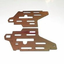 QS 8006-006 Aluminum body metal frame plates sheet for biggest rc helicopter QS8006 spare parts in stock