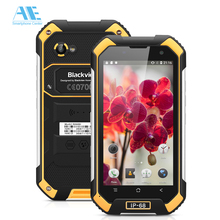 IP68 Waterproof Blackview BV6000 Smartphone MTK6755 Octa Core 3G RAM 32G ROM Cellphone Android 6.0 4.7 inch 4G LTE Mobile Phone(China)