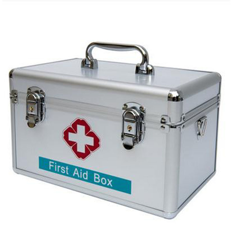 245*150*160mm Family medicine cabinet multilayer medical first aid kit medicine household children receive a case plastic box<br>