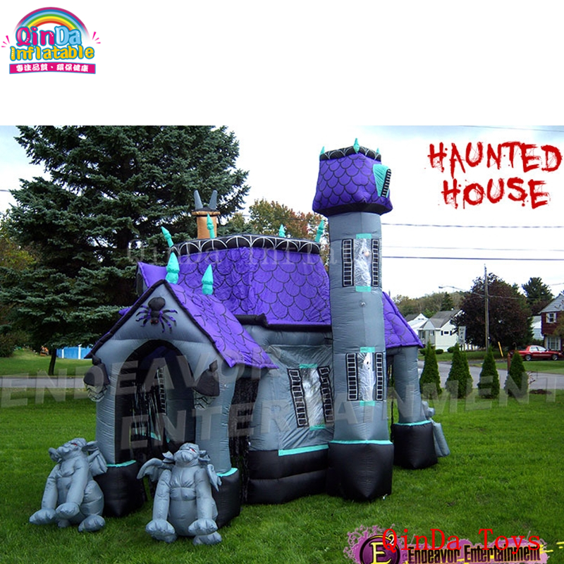 inflatable haunted house9