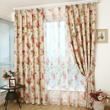 The rain high-end European style curtains for living room bedroom windows drapes special offer product customization
