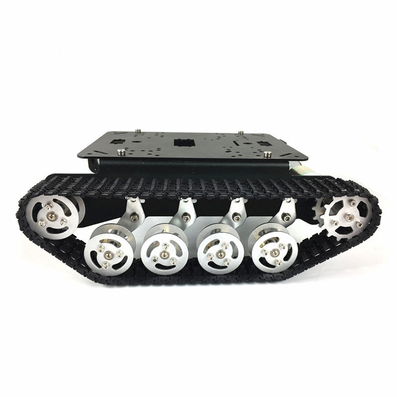 Mini T100 Crawler Tank Car Chis Tracked Smart Robot Compeion Diy Toy