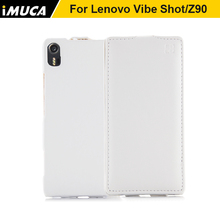 for Lenovo Vibe Shot Z90 Z90-7 Covers Brand iMUCA Luxury Vertical Flip PU Leather Case china cell phone cases online seller