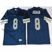Mens 1994 Retro Troy Aikman Stitched Name&Number Throwback Football Jersey Size M-3XL(China)