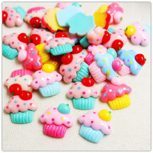 1541863,free shipping 30 pcs/lot flat back resin buttons,DIY handmade materials,Phone decorations(China)